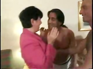 Gangbanged Swinger Wife