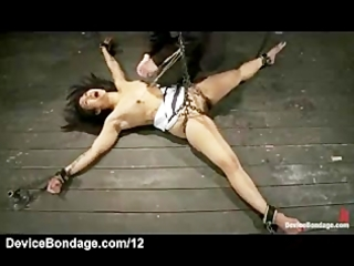 tied oriental sweetheart nipps rope slavery and