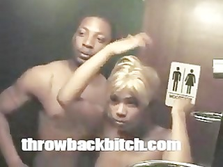 out of control hooker tries to fuck each on in