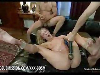 thraldom blond honey receives masturbation and
