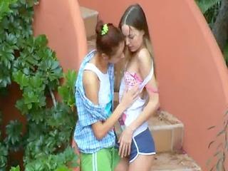 ivanas slaves of lesbian big o outside