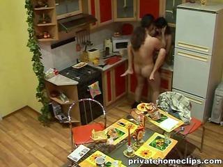 had kitchen sex with gf