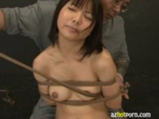 AzHotPorn.com - Japanese Deepthroat Bondage