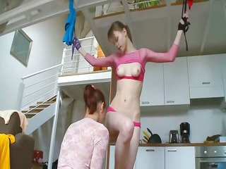 21yo russian sweethearts playing with toys
