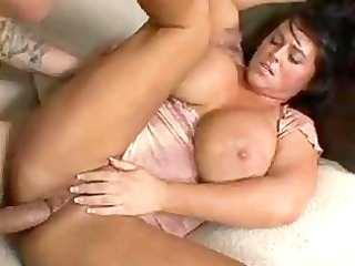 Filthy Indianna Jaymes gets jizzed on her