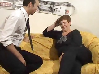 aged large dutch slut acquires fingered and