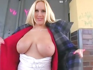 breasty euro honey creampied in the wc