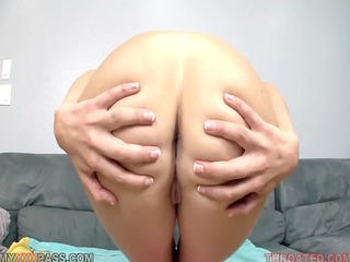 lina cole eagerly swallowing james deens pounder