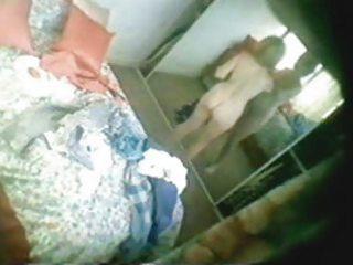 my beautifull s garb mamma in her bedroom