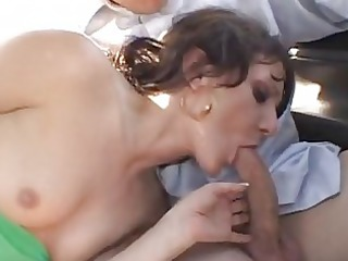 sexy sweetheart gia gold fills her warm moth with
