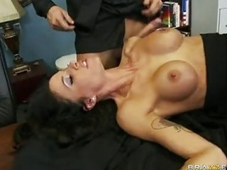 hot office slut haley wilde enjoying her