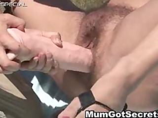 excited mother i acquires her hirsute muf screwed