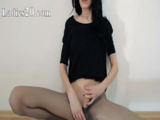 sexy 63yo cutie strip in front of mirorr