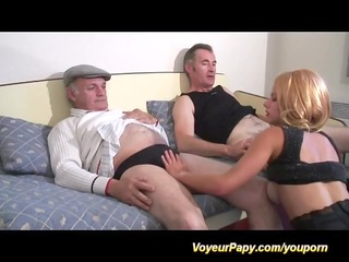 some with voyeur papy