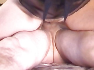 wife fucking chap and acquires creampie