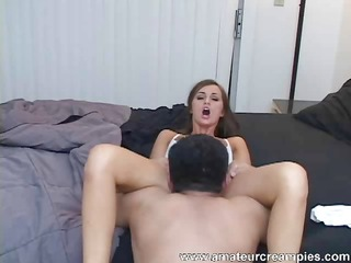 gorgeous lily carter acquires a creampie