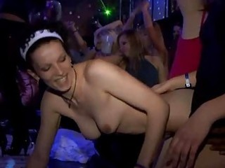 very hawt group sex in club