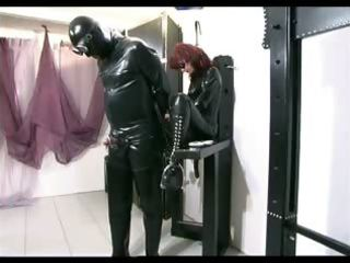sexually excited dominatrix receives screwed by