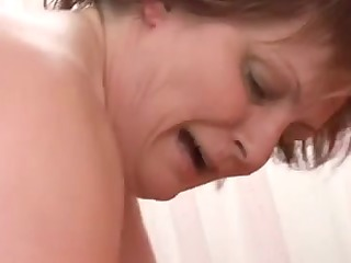 large gorgeous woman mature sucks and fucks a big