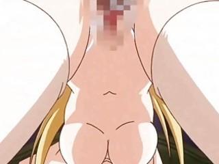 manga bigboobs brutally drilled by swarthy monster