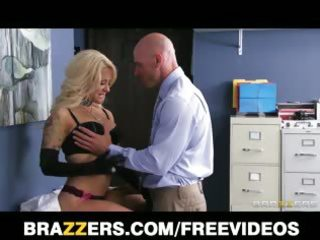 horny blond paitent implores her doctor to give