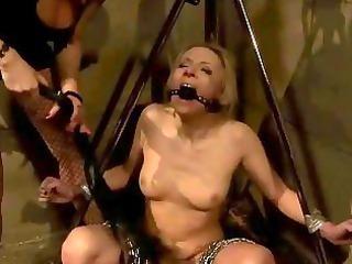 female-dom punishing slavegirl charming hard