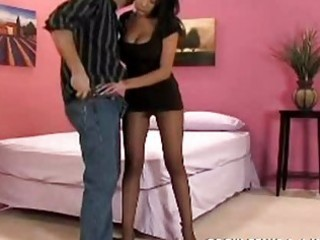 Fucked in pantyhose