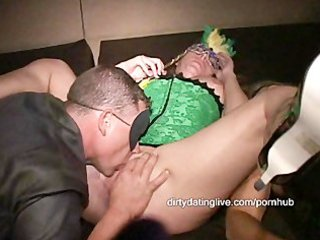 fisting squirters rule at masked d like to fuck
