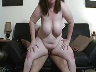 obese mommy bonks a stranger