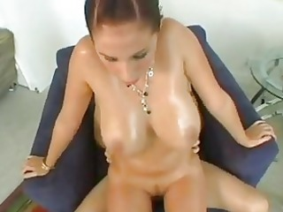 cute whore gianna michaels humping hard on a