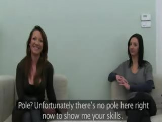 fake job suggest as a coeds in porn video
