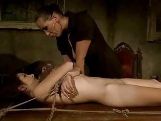 wicked mastix punishing her sex bondman
