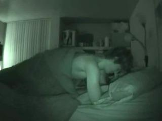 non-professional pair night vision sex