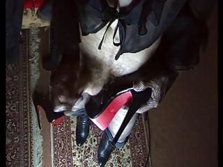 cum on high heels mix 113
