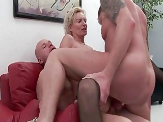 old whore acquires permeated by hard dicks