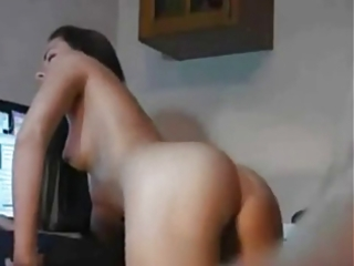 anal plowing his perfectly shaped gf