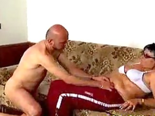 wicked old mama receives drilled hard and does