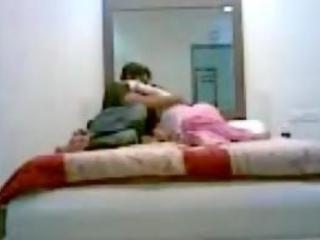 indian pair sex in bedroom hidden webcam scandal