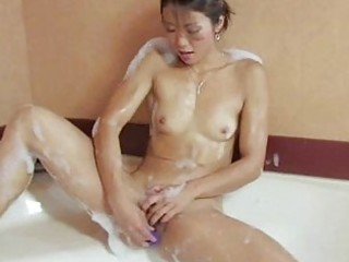 hairless oriental slit sweetheart masturbation