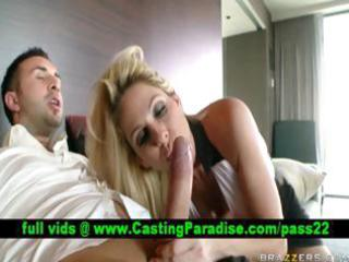 angela attison breasty golden-haired blowjobs