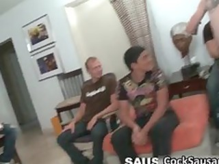 group of lascivious chaps desire for ramrod part4