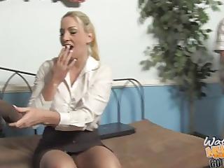 sugar mama cayla on large dark pounder