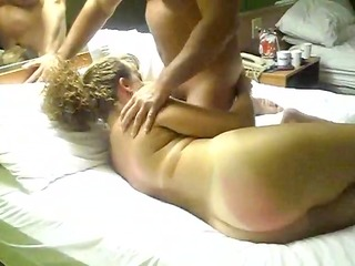 husbands hung ally bonks his wife
