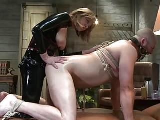 perverted dream of hooker tied