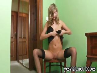 charming holly halston fingerin her snatch