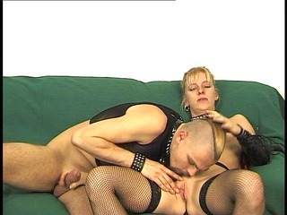 german pair with perverted outfits