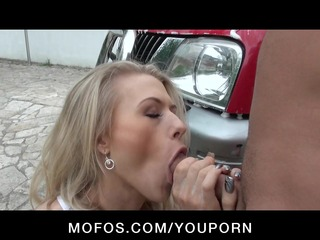 natural tit british golden-haired bitch legal age