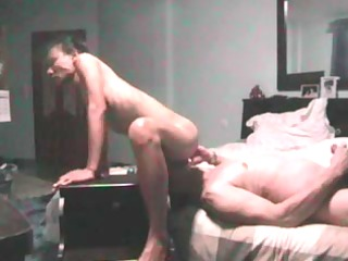 oriental wife cums on her hubbys face