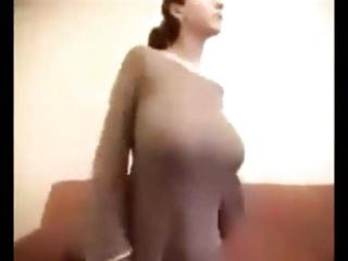 large tit dance