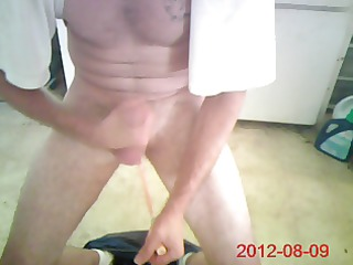 jacking with an air plugged arse